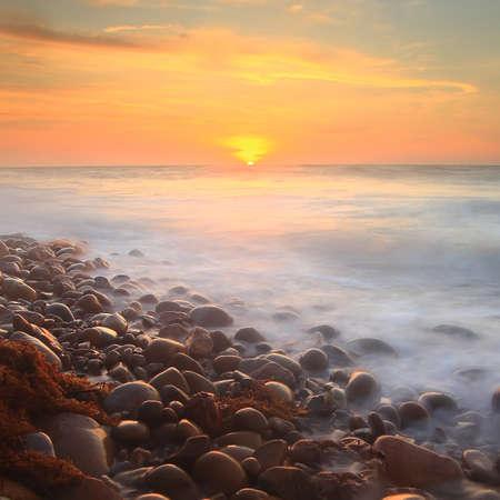 cobble: Cobble pietre tramonto