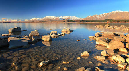 tekapo: Lake Tekapo, South Island, New Zealand