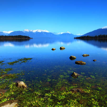 Lake Te Anau, New Zealand photo