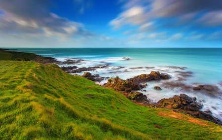 natural phenomena: Katiki Point, Moeraki, New Zealand