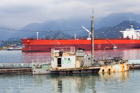 cristobal: The sunken tug at the port of Batumi serves as a warning sign of the stop