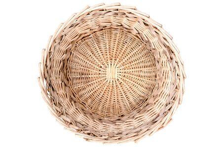 wickerwork basket top