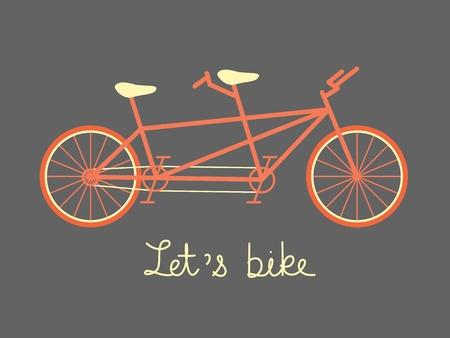 tandem: tandem bike