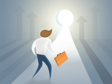 key success future Illustration
