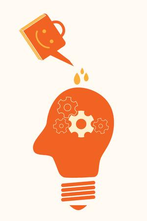 management concept: el desing m�nima del concepto de la gesti�n del conocimiento