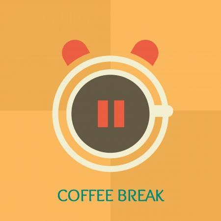tiredness: Coffee break time