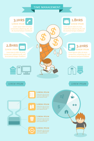 business infographic time management