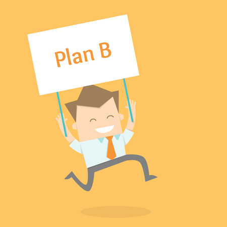 proactive: business man proactive new strategy