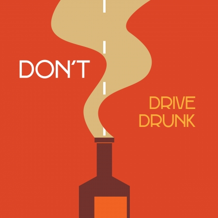 designated: dont drive drunk Illustration