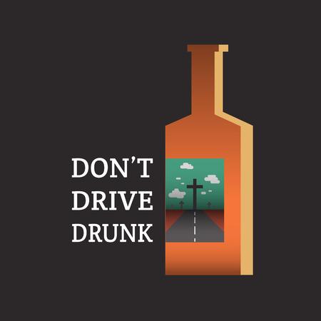 drink responsibly: don Illustration