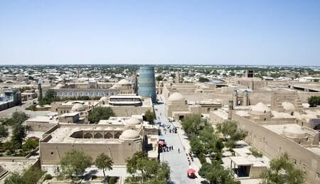 Khiva in Uzbekistan, Central Asia. photo