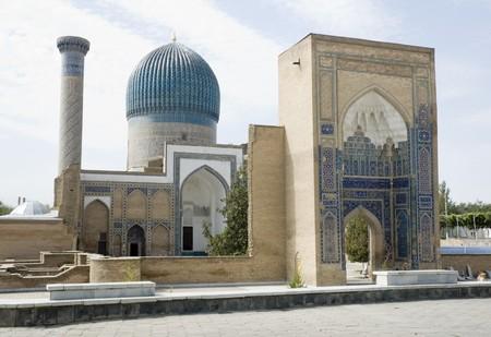 samarkand: Gur-e Amir Mausoleum in Samarkand, Silk Road