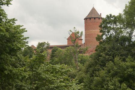 sigulda: Turaida Castle in Sigulda, Latvia Stock Photo
