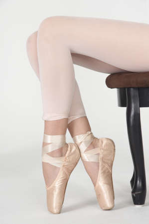pointe: Ballet Pointe Shoes and Tights
