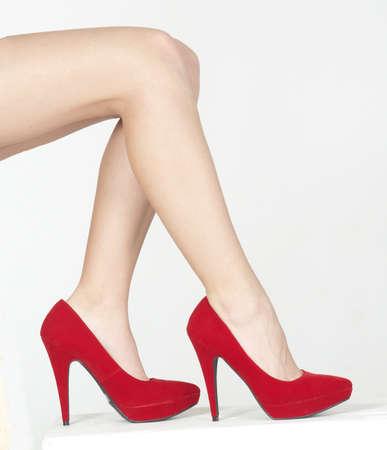 tacones: Cerca de la Red High Heels