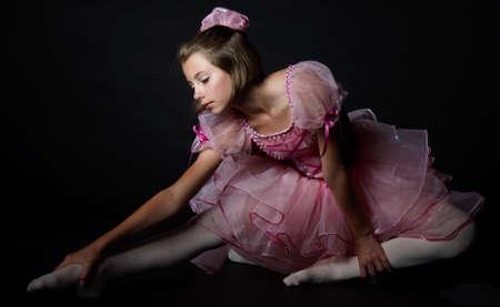 head wear: Artistic Photo of a Teen Ballet Dancer