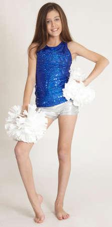 cheerleading: Teen Girl Cheerleader