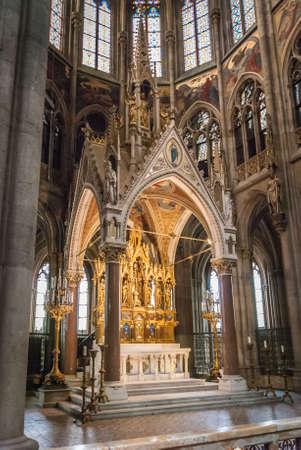 Altar of the Votivkirche (English: Votive Church) is a neo-Gothic church located on the Ringstraße in Vienna, Austria.