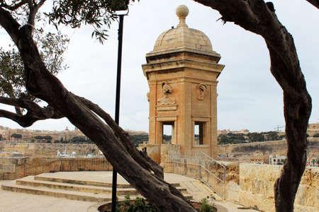 garden of eden: Gardjola (Watch Tower, Senglea)