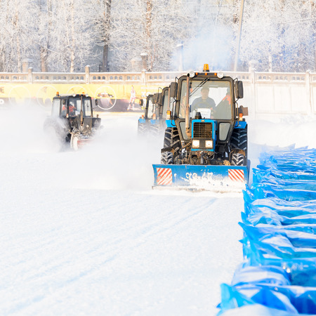 special technique restores the ice for racing
