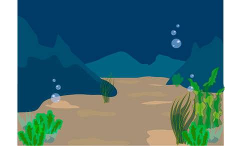 水中、海中生活, 海の底, 深さ