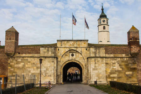 The old gate of the Belgrade fortress. Serbia
