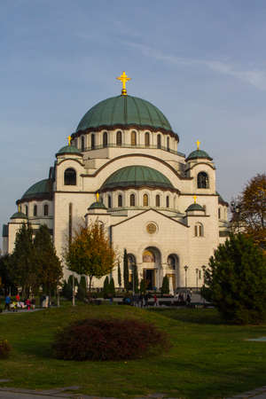 The Church of Saint Sava is a Serbian Orthodox church located in Belgrade. It is one of the largest Orthodox churches in the world.