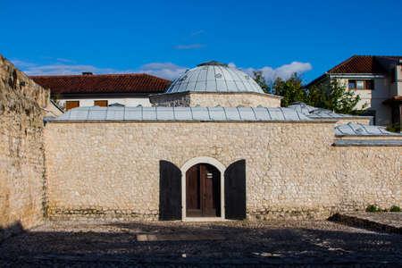 Turkish Baths Hammam in Mostar. Bosnia and Herzegovina