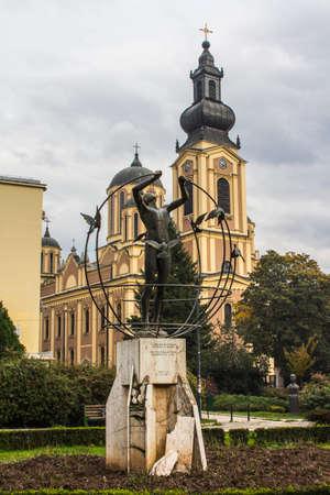 The Metropolitan Orthodox Church in Bosnia and Herzegovina, seated in Sarajevo Stock Photo
