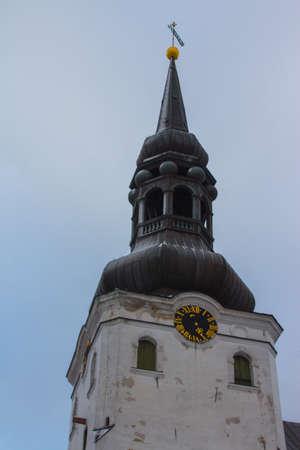 View of Cathedral of Saint Mary the Virgin in Tallinn. Estonia 版權商用圖片