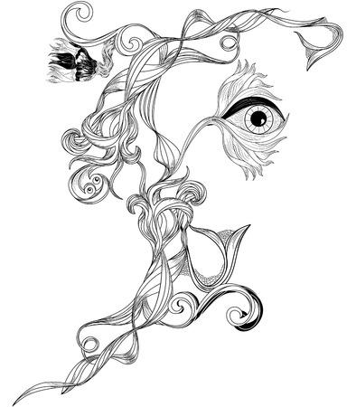 bizarre: floral bizarre