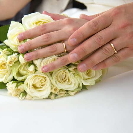 Newly wed photo