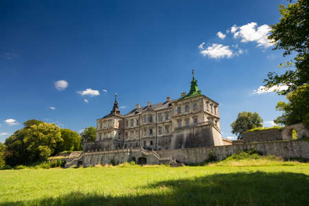sobieski: Pidhirtsi Castle is a residential castle-fortress located in western Ukraine Editorial