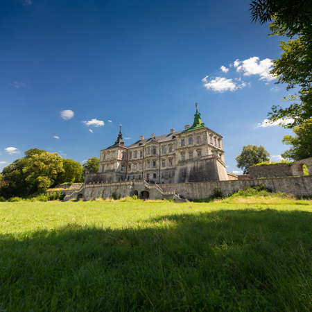 Pidhirtsi Castle is a residential castle-fortress located in western Ukraine Editorial
