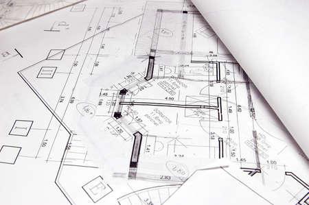 devise: blueprint Stock Photo