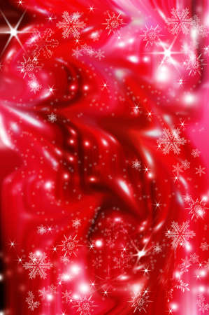 red background made from brushes photo