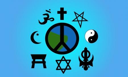 Religious symbols.
