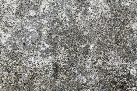 Close shot of the rough texture of gray concrete  Defects are seen   Stock Photo