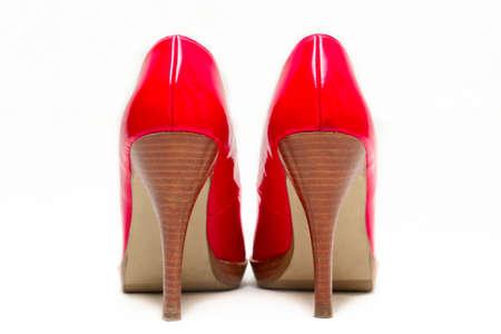 Red High Heels photo
