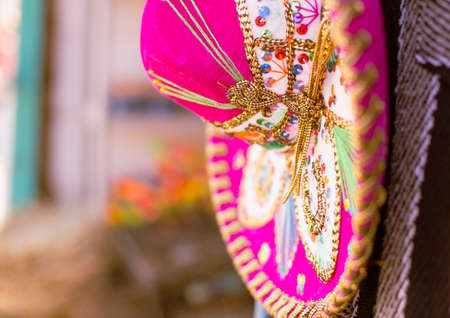 celebration party: A Pink Sombrero in Mexico.