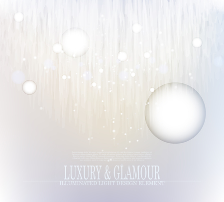 Vector abstract glacier crystal background design, luxury and glamour