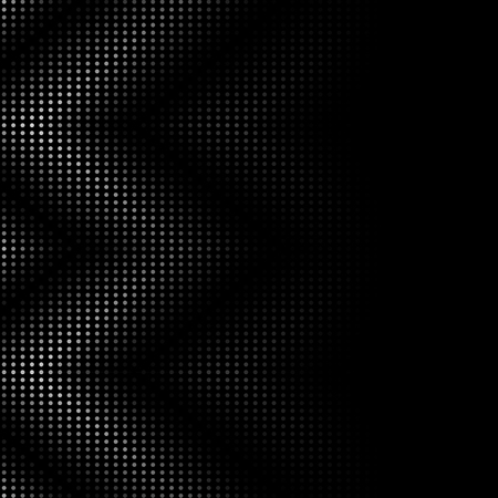 Carbon dotted wave seamless pattern abstract background vector, inclusive of swatch pattern Illustration
