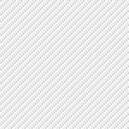 Vector abstract white carbon fiber material texture background design Çizim