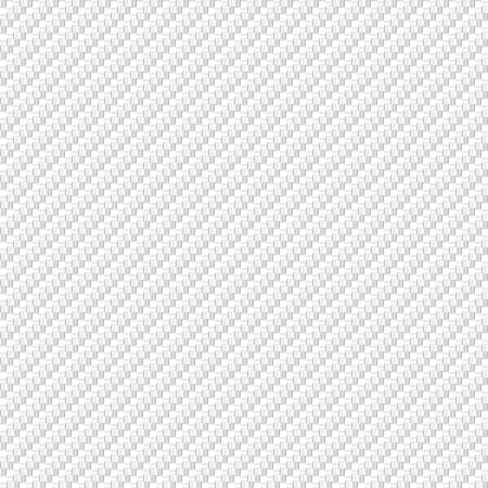 Vektor abstrakte weiße Kohlefaser Material Textur Hintergrunddesign Vektorgrafik
