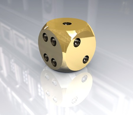 dice (3D) photo