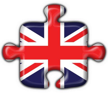 english britain button flag puzzle shape photo