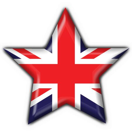 english britain button flag star shape photo