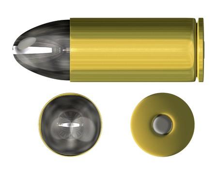 3d bullet: bullet orthogonal view (3D)