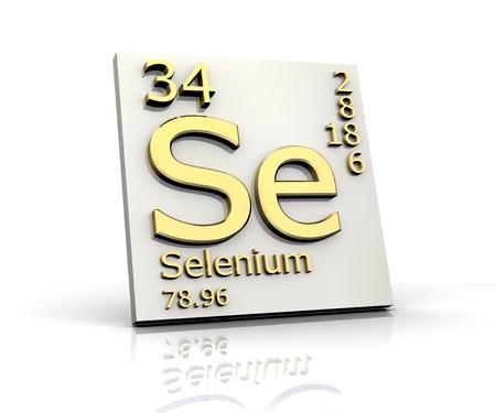 selenium:  Selenium form Periodic Table of Elements