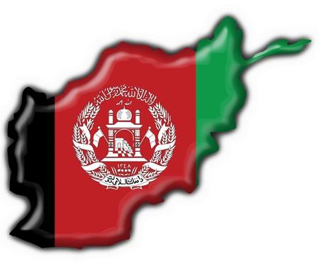 afghanistan button flag map shape photo
